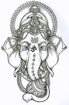 Tattoo Mandala Elephant Ganesh 31 New Ideas Ganesh Tattoo, Tattoo P, Mandala Tattoo, Buda Tattoo, Hindu Tattoos, Tattoo Fonts, Tattoo Quotes, Trendy Tattoos, New Tattoos