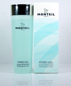 Monteil Paris Hydro Cell 6.7 oz Refreshing Face Tonic by Monteil Paris. $24.00. Appropriate for any skin type. Paraben Free. The alcohol free facial tonic clarifies the skin and has a unique lasting mattifying effect.  It effectively counteracts excess sebum production and reduces impurities.