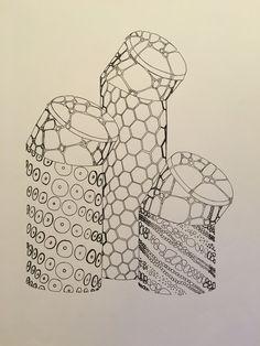 Modelo reinterpretado con texturas naturales