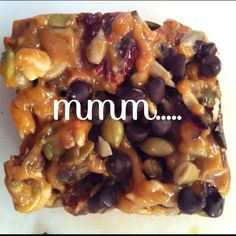 Erica's Nut n' Honey Paleo Bars