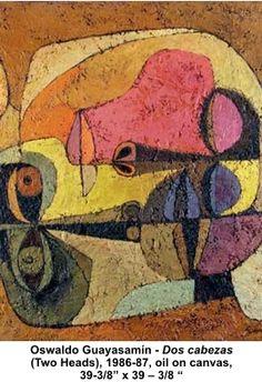 Pinturas de Oswaldo Guayasamin, representación de la realidad en las pinturas del ecuatoriano. Gran referente.