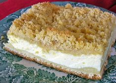 This German coffee cake recipe uses yeast, quark or yogurt cheese and a streusel topping that would be perfect for your next Kaffeekranz.