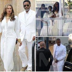 NIGERIAN TOP SECRET: PHOTOS: Beyonce's Mum, Tina Knowles Weds Actor Boy...