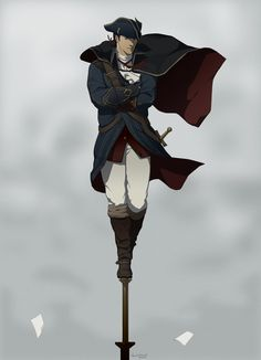 Haytham Kenwat by *doubleleaf on deviantART Game Character, Character Design, Assassin's Creed I, Connor Kenway, Assassins Creed Series, Edwards Kenway, Video Games, Zelda, Deviantart