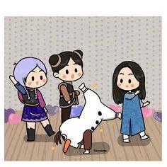 Matchbox Crafts, Blackpink Poster, Blackpink Funny, Blackpink Memes, Drawings Of Friends, Black Pink Kpop, Fanart, Cute Chibi, Cute Cartoon Wallpapers