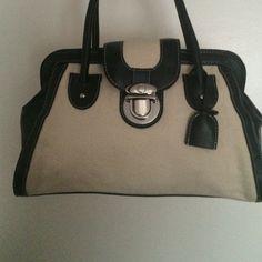 Ann Taylor Loft Tote Satch Shoulder Bag NWOT pocketbook measurements are 13 x 7 x 4 Ann Taylor Bags
