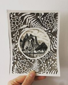 Birthday piece for my best friends father. Cathedral Spires and Rocks Yosemite National park- Ansel Adams photograph as inspiration.  #art #beauty #wilderness #wildlife #mountains #ink #papercraft #drawing #draw #blackandwhite #gift #outdoors #nature #artist #inspiration #everywhere #weekend #birhday #family #love