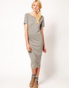 Asos YMC Maisie Tee Dress with Scoop Back