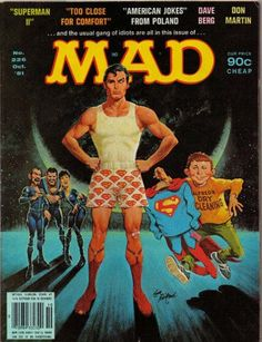 Cover for MAD (EC 1952 serie) #226 - OCTOBER 1981