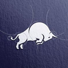Design Graphique, Art Graphique, Creative Logo, Creative Art, Kreis Logo, Tatoo 3d, Icon Design, Web Design, Bull Logo