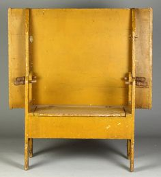 Pine Hutch Table / chair ... Lot 161 ~ Beautiful color and patina