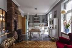 Projekt wnętrz domu kraków: styl Rustykalny, w kategorii Kuchnia zaprojektowany przez MOCOLOCCO