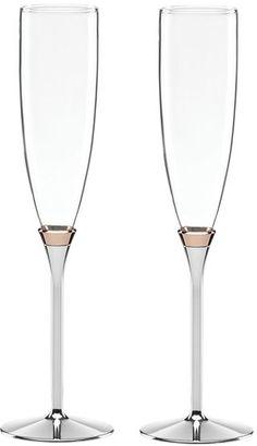 Kate Spade New York 'rosy Glow' Champagne Toasting Flutes (Set Of 2) #katespade #champagne #flutes #toast #wedding