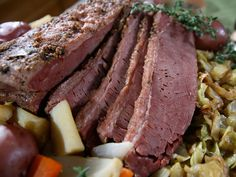 Corned Beef and Cabbage Recipe : Melissa d'Arabian : Food Network - FoodNetwork.com