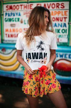 Top Spring Summer Fashion Style Ideas For Women 10 Fashion Week, Boho Fashion, Girl Fashion, Fashion Outfits, Womens Fashion, Fashion Tips, Hawaii Fashion, Fashion 2018, Fashion Online