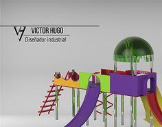 """Check out new work on my @Behance portfolio: """"parque infantil, render keyshot, modelado cad inventor"""" http://be.net/gallery/54638047/parque-infantil-render-keyshot-modelado-cad-inventor"""