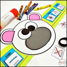 Winter Animals Activities Polar Bears, Penguins, Kindergarten, 1st Grade