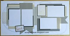 I'm offering this workshop for you to create 5 two-page layouts using the BASICS Paper Fundamentals, the Silver & Gold Picture My Life Over...