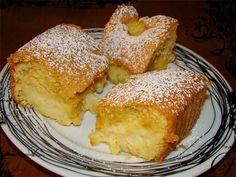 Sopaipilla Cheesecake Squares (cheesecake bars with a delicious creamy center and a crunchy cinnamon to) Candy Recipes, Holiday Recipes, Snack Recipes, Dessert Recipes, Cooking Recipes, Holiday Foods, Greek Sweets, Greek Desserts, Greek Recipes
