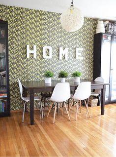 mod comedor rústico   casa en Portland   foto de Christine de El Blog Nest Plumed