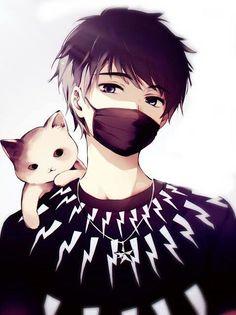 Anime Neko, Chica Anime Manga, Fanarts Anime, Kawaii Anime, Anime Characters, Kawaii Art, Cool Anime Guys, Girls Anime, Cute Anime Boy