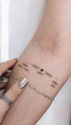 Gewichtsverlust Tattoos