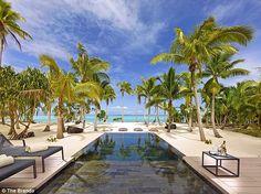 The Brando is the sole hotel on Tetiaroa, a private atoll of a dozen islets that circle a pristine lagoon 30 miles north of Tahiti