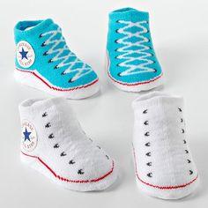 Converse 2-pk. Sneaker Booties - Baby