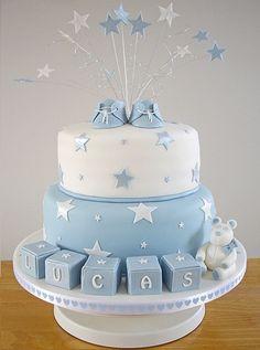 tartas suelen ser muy típicas en todo bautizo ! Prepara tus tartas ...
