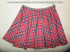 Confecciona tu misma esta magnifica falda, tendencia de este invierno, de la mano de Sara Rodriguez, en su blog De Costuras y otras cosas.