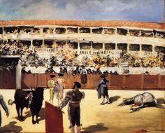 Edouard Manet, Bullfight, 1866 on ArtStack #edouard-manet #art