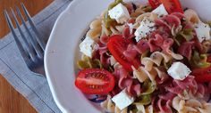 Salade de pâtesVoir la recette de la Salade de pâtes >>