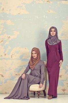 Hijab Fashion 2016/2017: Sélection de looks tendances spécial voilées Look Descreption SPIRIT . INAYAH