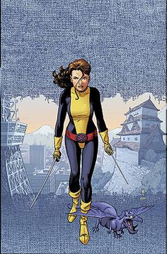 Kitty Pryde and her amazing phasing abilities as well as her romance with Colossus had me hooked.