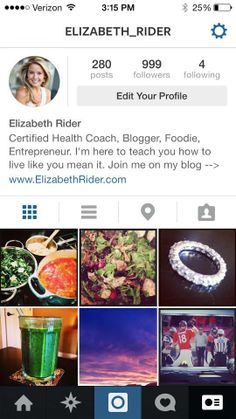Who's going to be my 1000th Instagram friend? Find me at elizabeth_rider for daily food love