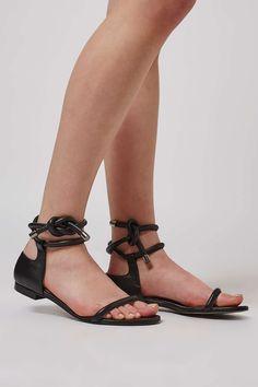 Limited Edition PRINCESS Flat Sandal - Shoes 756ddfd994