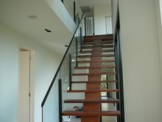 Our aluminium semi frameless glass balustrades are very popular with clients wanting a balustrade who wish to retain their view on a budget. Frameless Glass Balustrade, Stairs, Google Search, Home Decor, Stairway, Decoration Home, Staircases, Room Decor, Stairways