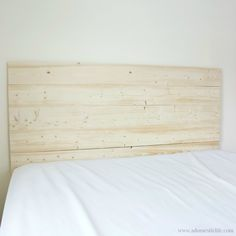 Easy DIY Rustic Headboard for $55