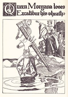 """Howard Pyle's """"The Story of King Arthur and His Knights"""""""