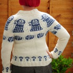The amazing Doctor Who jumper - FREE pattern! - LoveKnitting blog