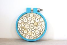 Embroidery Hoop Art Upcycled Textile And by BrandyCupcakesStudio, $35.00