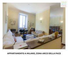 - Arco della Pace (MI) - 3 locali - 120 mq - €640.000 ➡️ Proponiamo a Milano, a pochi passo dall'Arco della Pace, appartamento posto al 1° piano di un signorile stabile d'epoca.