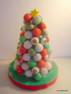 Neste vídeo você vai aprender como fazer e decorar cake pops. Vai também aprender a fazer esta linda árvore de Natal com os cake pops, para enfeitar a mesa e fazer a alegria das crianças e adultos...Vídeo completo e super explicativo.