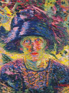 Umberto Boccioni (1882-1916)  #UmbertoBoccioni