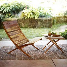 Outdoor furniture on Pinterest | Teak, Outdoor Dining Set and Teak