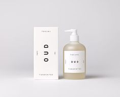 Organic hand soap by Tangent GC. Available at www.missglasshome.com  #packaging #design #perfume #organic #vegan
