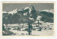 Reutte i.T. Mit Hahnenkamm, Gernspitze, Gimpl Und - bidStart (item 28373004 in Postcards, Europe... Tirol) Homeland, Cali, Mount Everest, Mountains, Austria, Places, Nature, Travel, Painting
