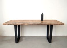 Hillside Dining Table  5' Beautiful Salvaged Wood by dylangrey, $1200.00