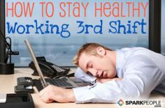 Working the third shift can have damaging effects on your body. Learn how you can stay healthy through sleep, nutrition, and fitness.