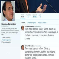 Caindo o Governo de Dilma Vana Rousseff by Carlos A. Sardenberg ➤ https://twitter.com/realsardenberg ②⓪①⑥ ⓪③ ①④ #Impeachment